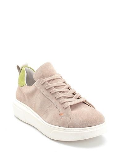 Derimod Kadın Ayakkabı(2340) Casual Bej